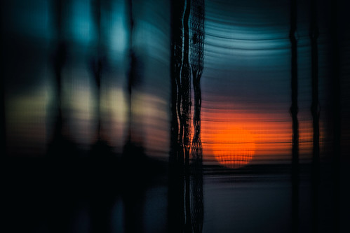 sunset florida miami