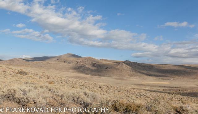The landscape around Bodie