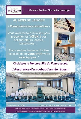 OFFRE VOEUX 2017 - Hôtel MERCURE SITE DU FUTUROSCOPE