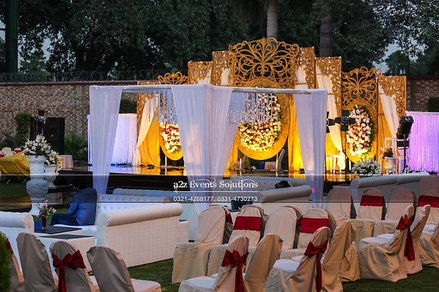 Best WALIMA Stages Designer, Best WALIMA Stage Decoration Services in Lahore
