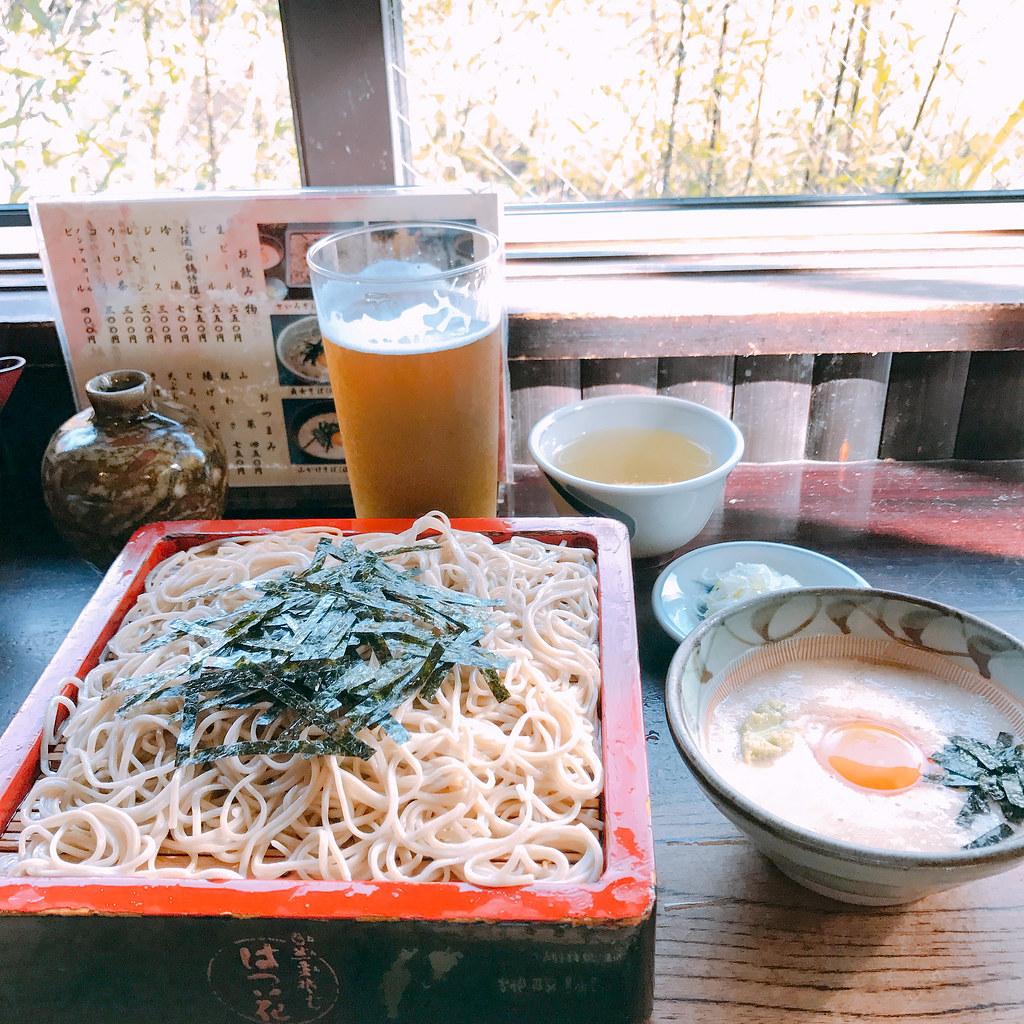 朝ごはんは はつ花そば(せいろ) (@ はつ花そば 本店 in Hakone-machi, 神奈川県)