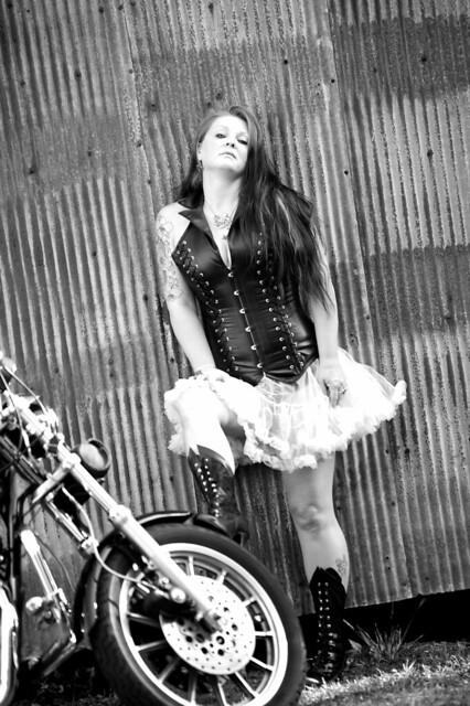 Jamies Harley Shoot