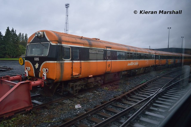 6105 at Inchicore, 15/10/14