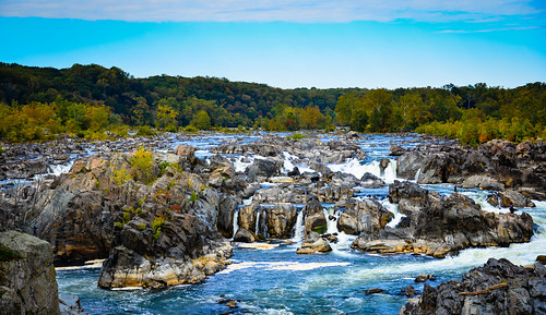 park usa color colour colors nova america river landscape virginia us waterfall rocks colours unitedstates wasserfall nps great rocky falls boulders national va potomac gorge np northern paysage parc chute deau mclean cascada cascata gröse gröster wasserfalls ilobsterit