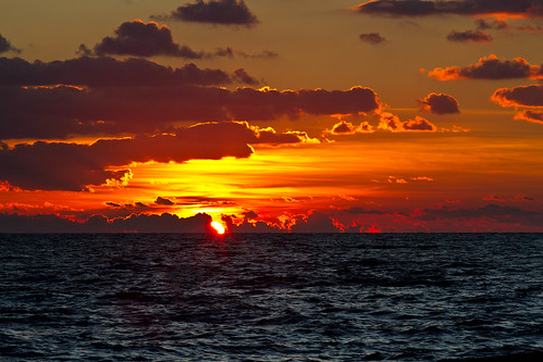 morning light red sea sky seascape clouds sunrise landscape dawn waves florida atlanticocean daybreak pompanobeach