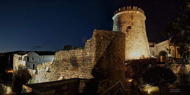 Trsatska gradina by night