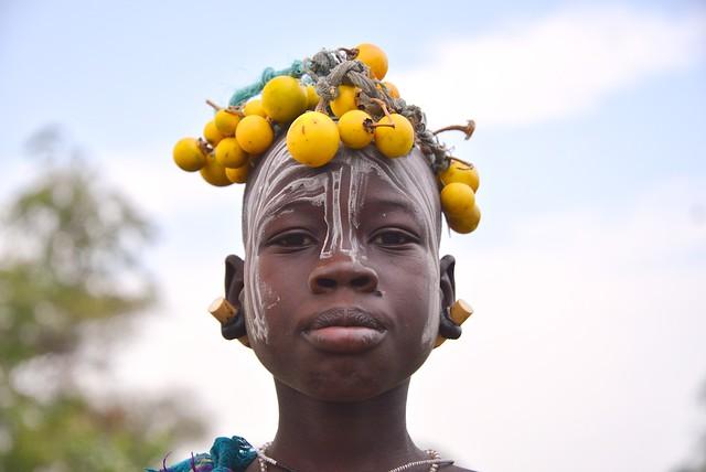Girl, Mursi Tribe, Ethiopia