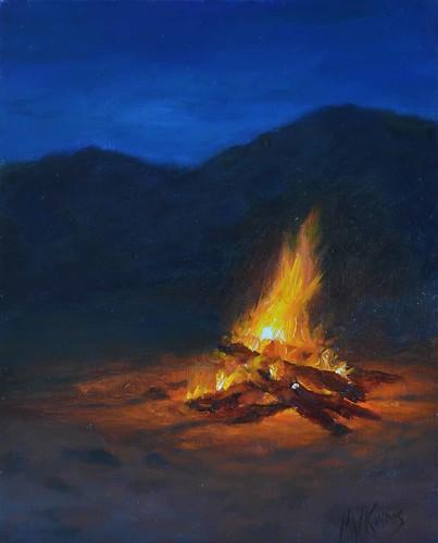Desert Campfire