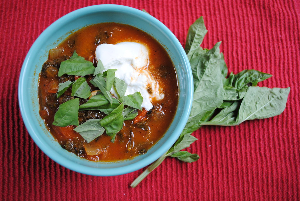Image result for Spinach & Tomato Soup