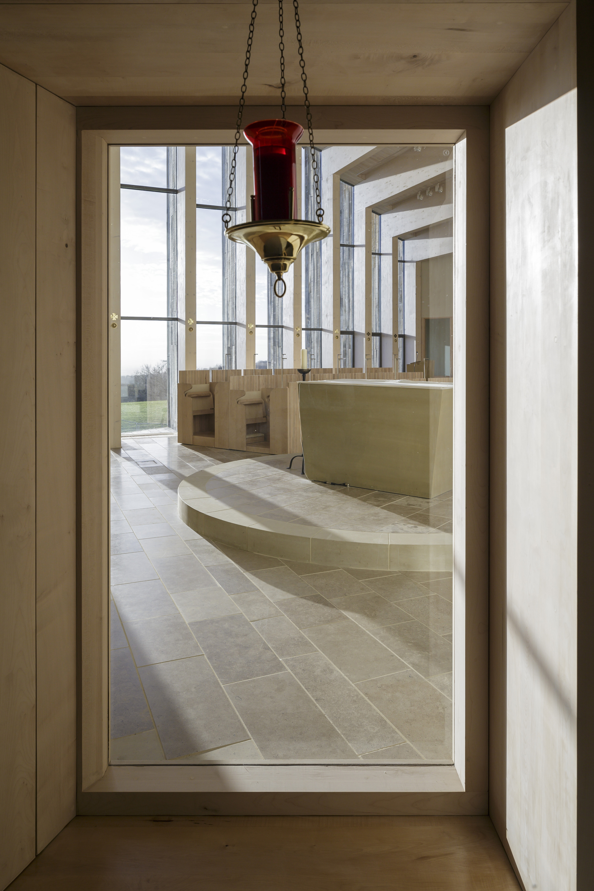 Stanbrook Abbey Church, Wass, Yorkshire - Feilden Clegg and Bradley Studios