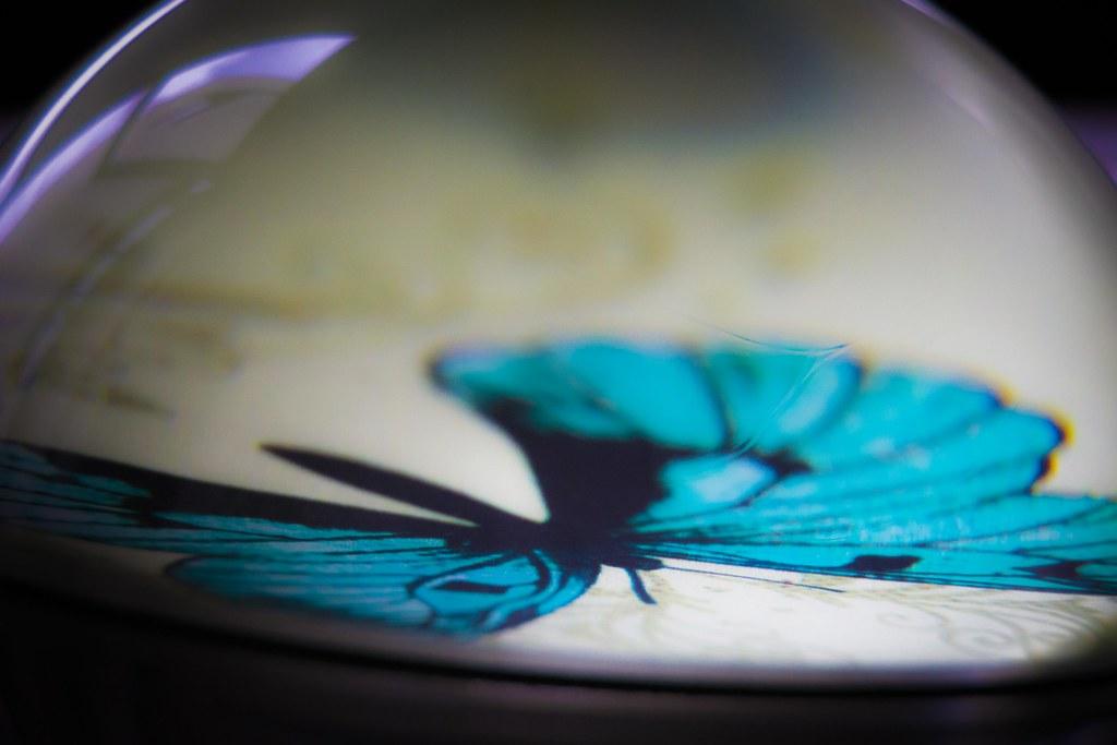Pisapapeles de Mariposa