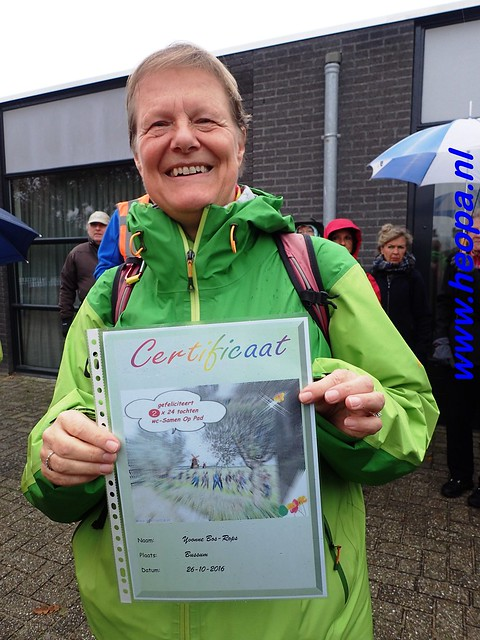 2016-11-09  Gooimeer tocht   25 KM   (10)
