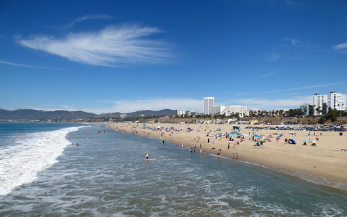 Santa Monica Beach 2 | by ahisgett