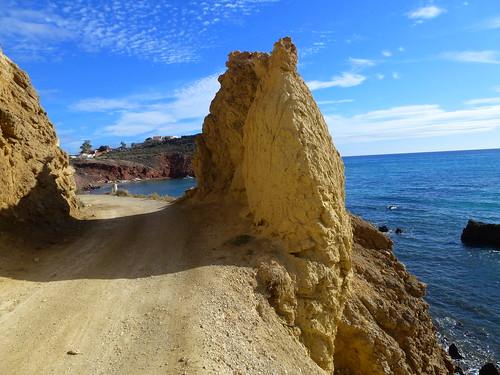 rock mar espana murcia mazarrón bolnuevo bahiademazarron
