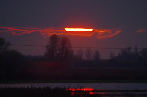 sunset welney washes