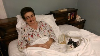 Momma & Normie in Bed 2