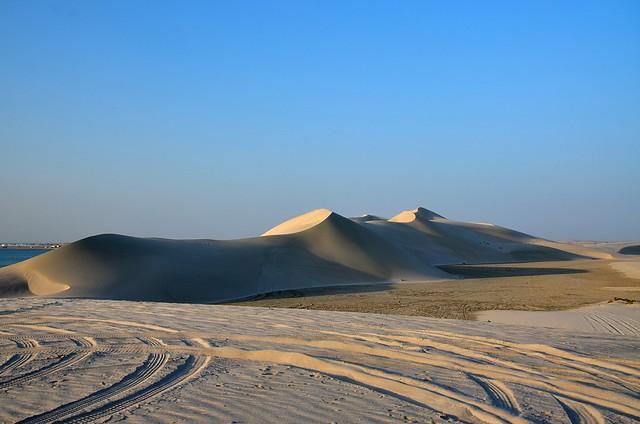 DSC_9979 InlandSea.  Desert of Qatar.