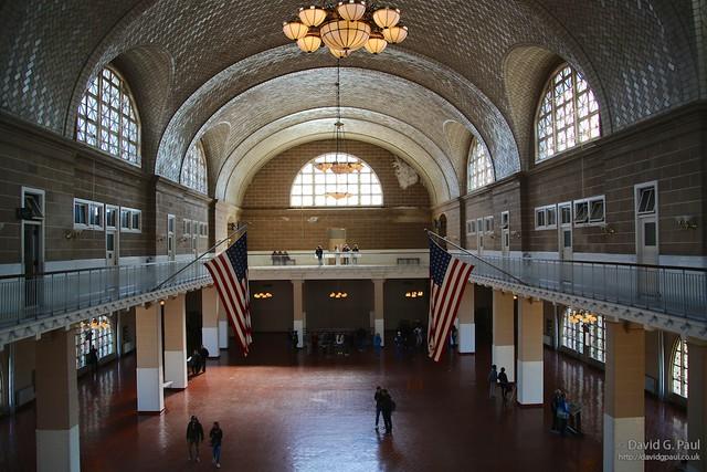 Immigration Hall, Ellis Island