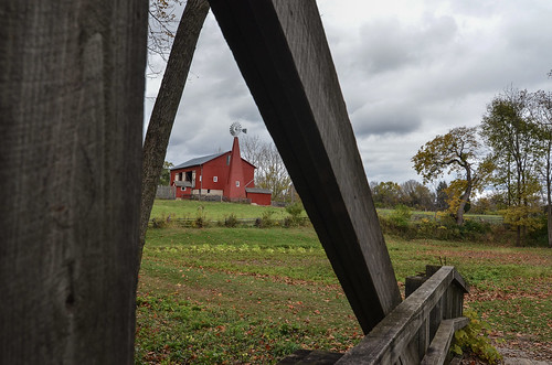 ohio carriagehill farm red barn scenic historic vintage thomasdwyer nikon d7000 landscape image photo tomdwyer