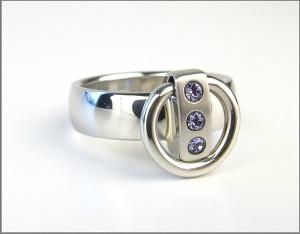 klappbarer ring der o schmal kaufen auf www traeume. Black Bedroom Furniture Sets. Home Design Ideas