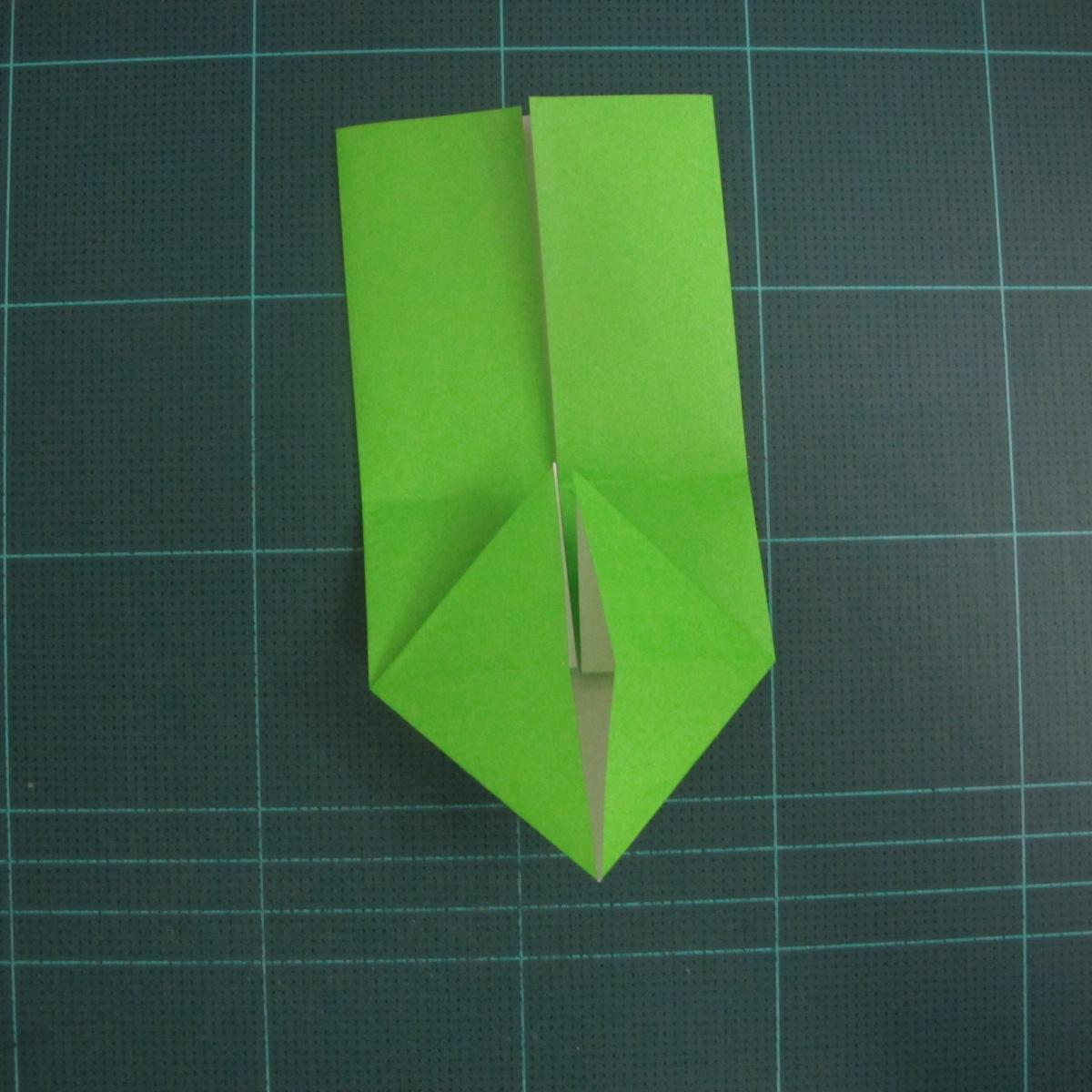 การพับกระดาษเป็นรูปแรด (Origami Rhino) 007