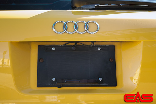 We added this back up camera into the license plate mount. | by eliteautosalon719