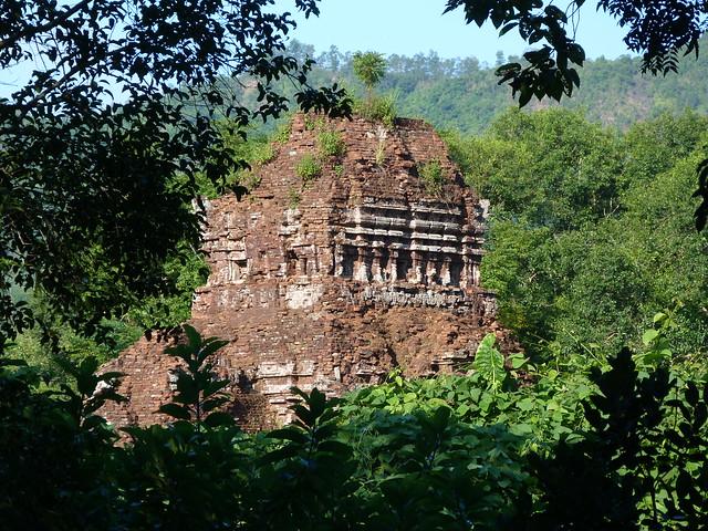 Restos del Santuario de My Son en Vietnam