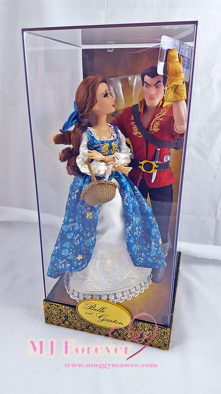 DFDC Belle and Gaston Doll Set