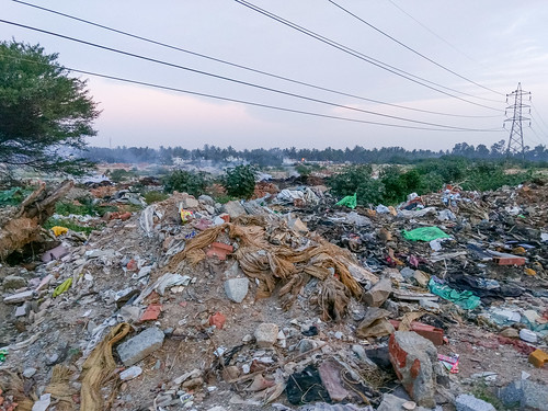Rubbish at Rampura Lake | by Mike Prince