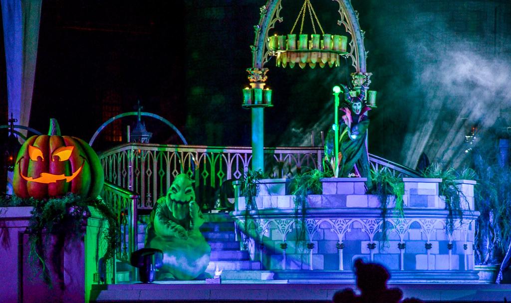 MK Hocus Pocus jack o lantern Oogie Maleficent