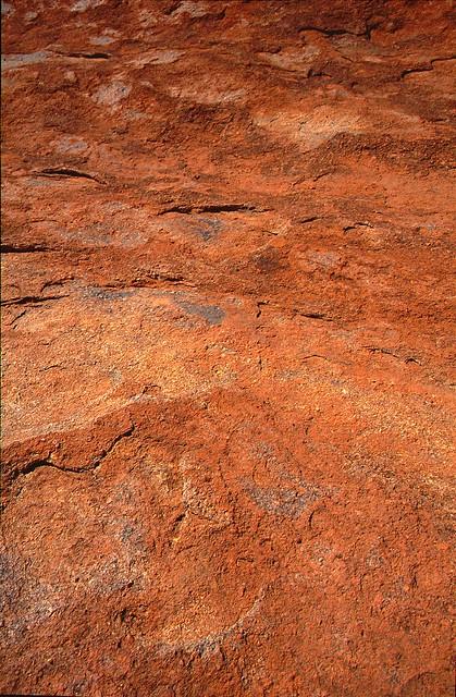AUSTRALIA AYERS ROCK ULURU MOUNT TOP