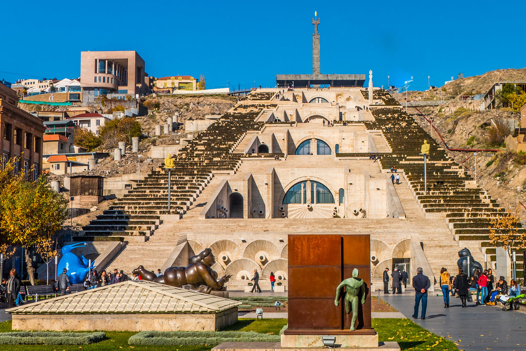 The Cascade -- Yerevan Armenia