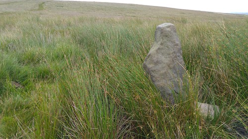 Stone on Standing Stone Hill, Heptonstall Moor | by pluralzed