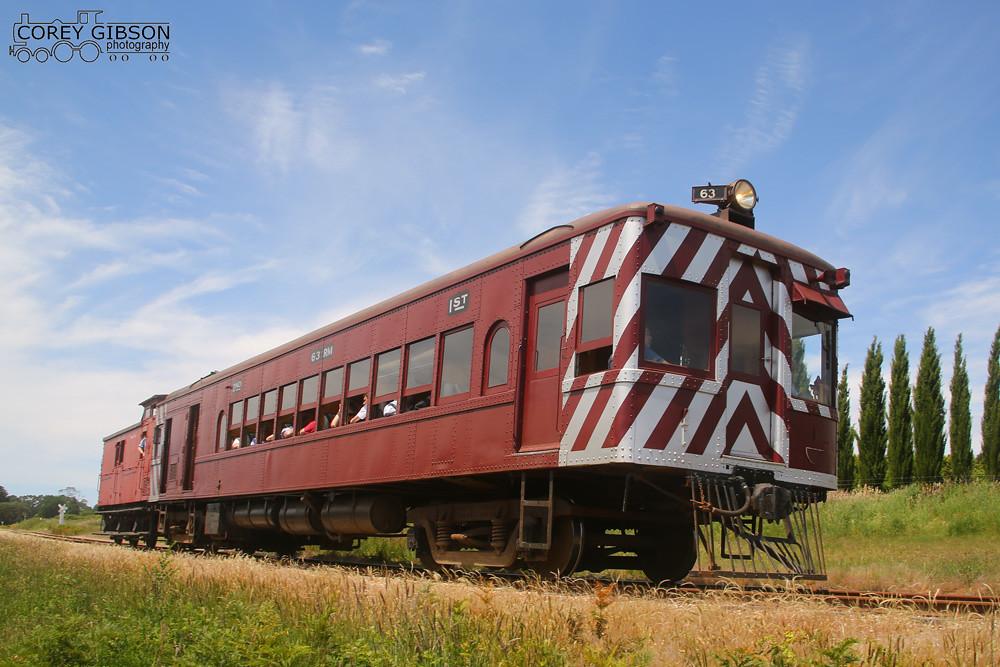 Daylesford Spa Country Railway Railfan Day - DERM RM63 by Corey Gibson