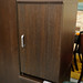 Walnut single door locker