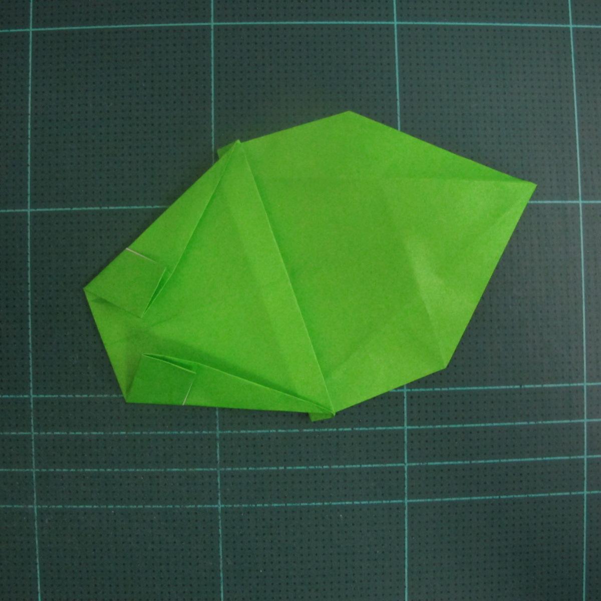 การพับกระดาษเป็นรูปแรด (Origami Rhino) 018