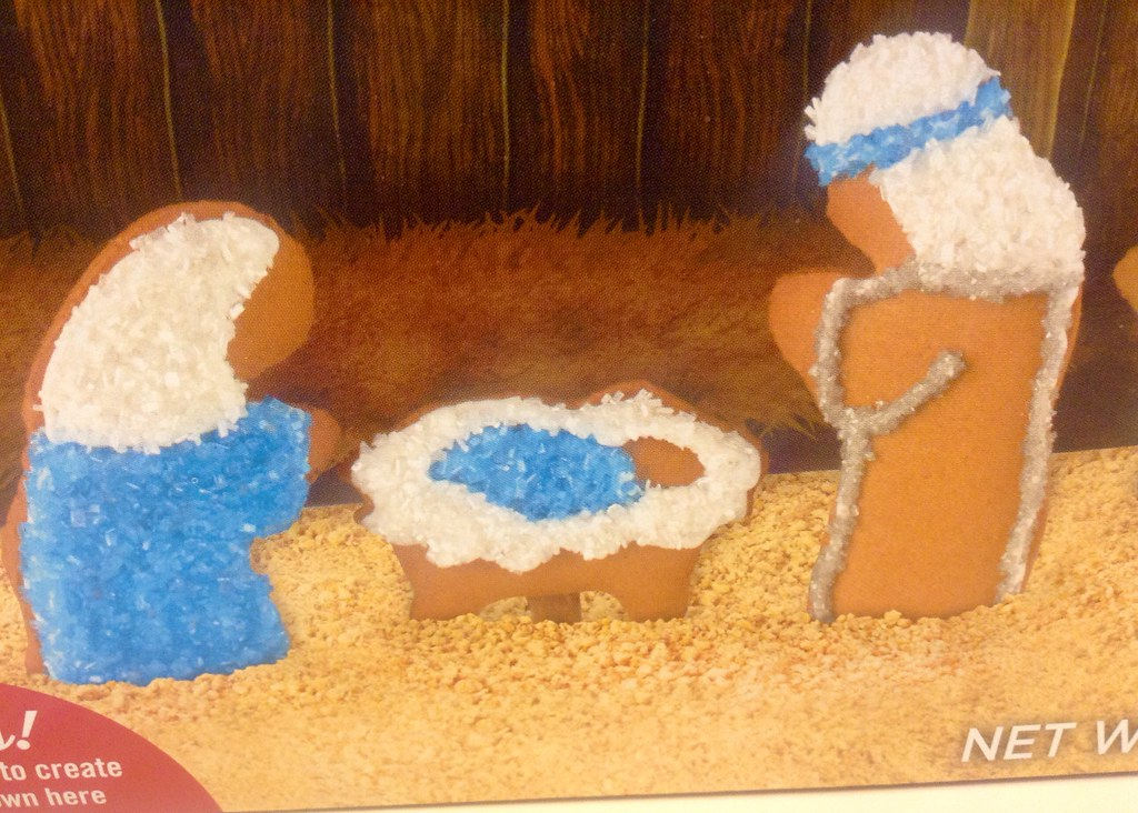 Gingerbread Cookie Nativity Decorating Set At Target Store Flickr
