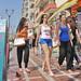 Greece, Macedonia, Thessaloniki, teen girls' street fashions by Macedonia Travel & News