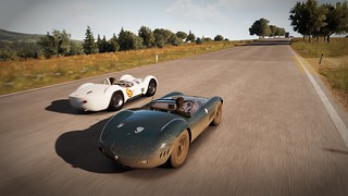 Maserati 300S and Type 61 Birdcage | by Populuxe Cowboy