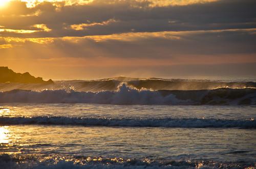 ocean sky seascape clouds sunrise surf maine newengland wells atlantic coastal wellsbeach wellsme