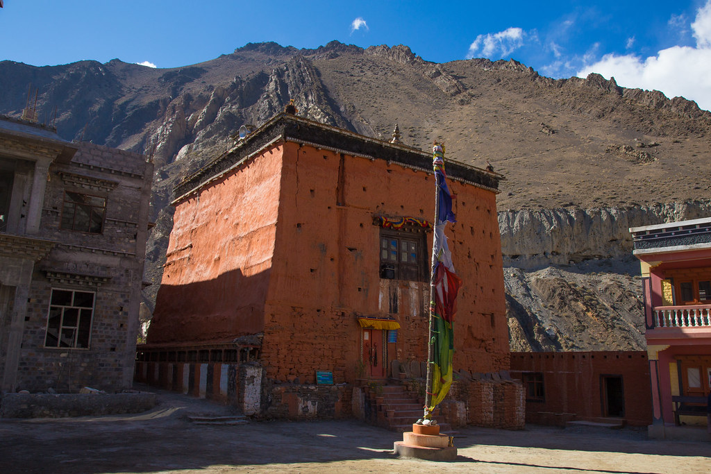 Kagbeni, the door to Upper Mustang
