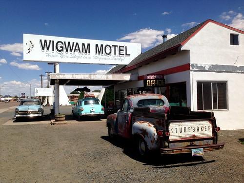 The Wigwam Motel | by cogdogblog