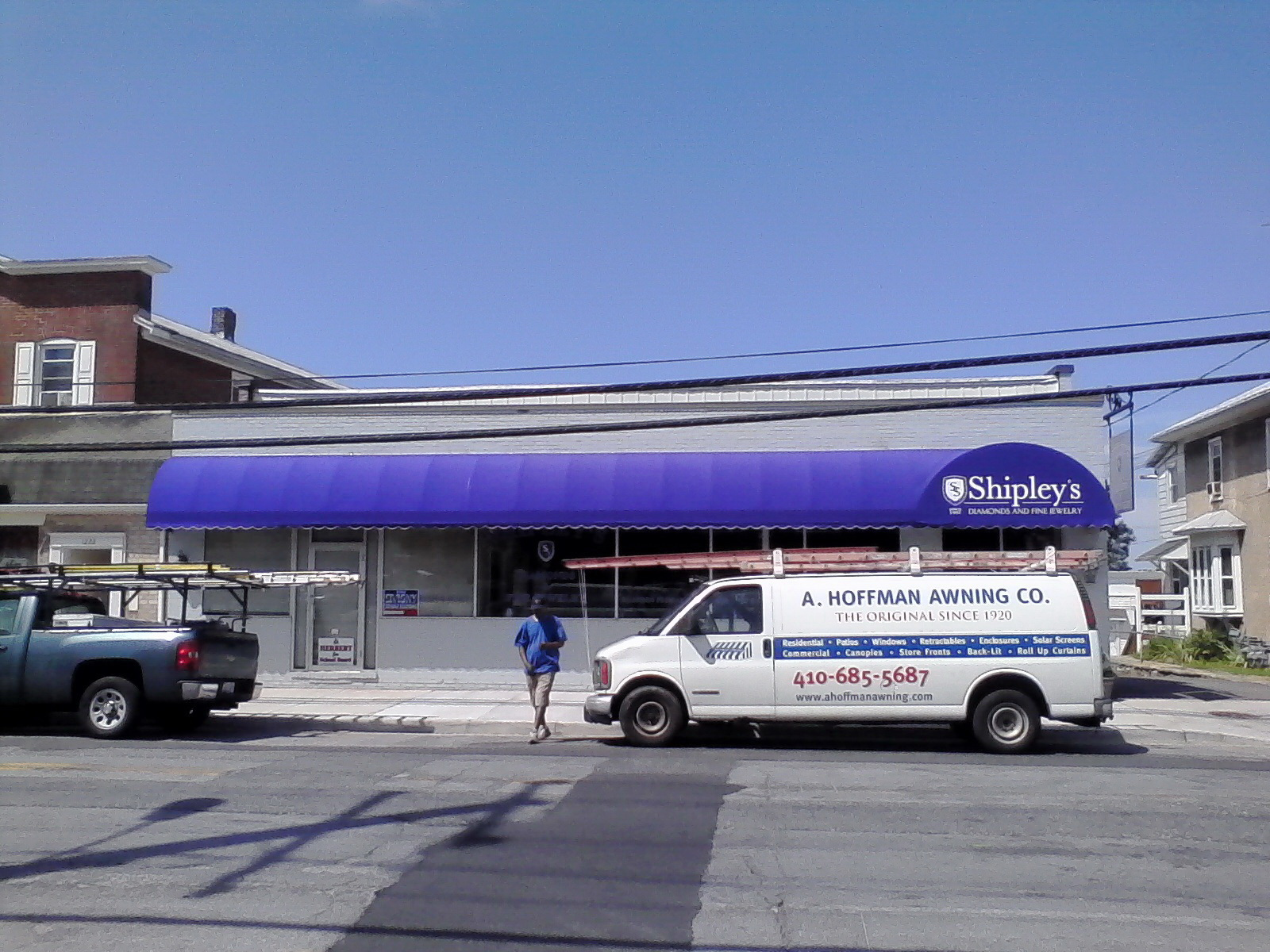 Commercial Jewelry Store Awning