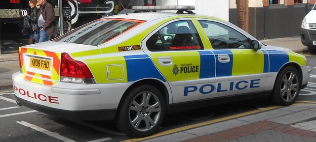 South Yorkshire Police (YN08 FHO)