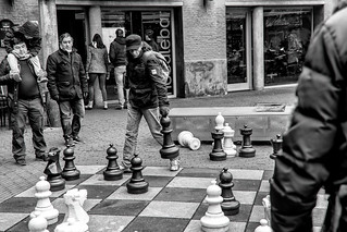 Chess player in Amsterdam... | by fnoothout