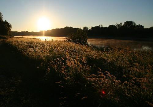sunrise ohio maumee metropark side cut river