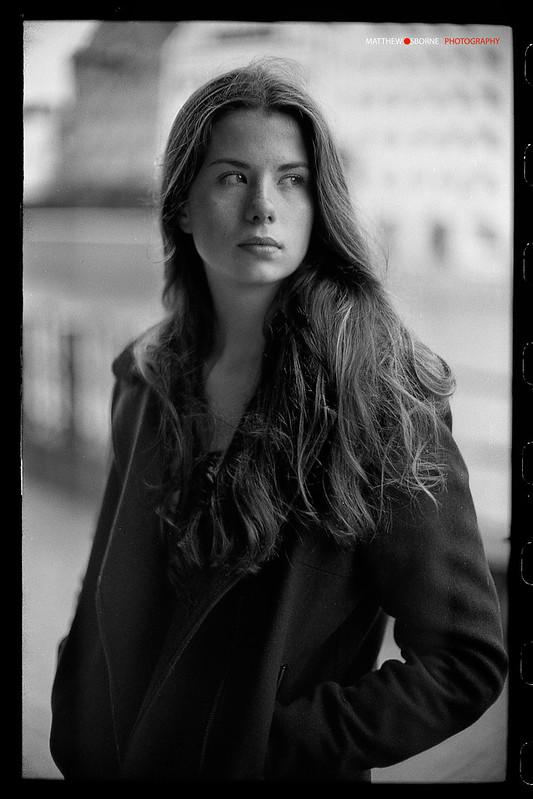 35mm B&W Film Portrait - Leica M2