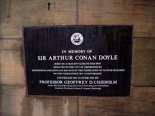 SIR ARTHUR CONAN DOYLE - STATUE | by summonedbyfells