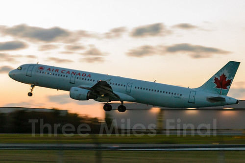 sunset canada canon twilight air airbus halifax 1ds departure a321 cgjwd cyhz threemilesfinal