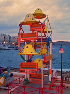 Saint Paul's Bay, Malta bei Dämmerung